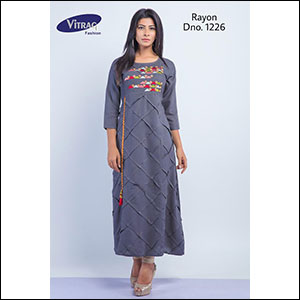 72eda1a5f9 Ladies Kurtis - Manufacturers, Suppliers, Wholesalers & Distributors ...