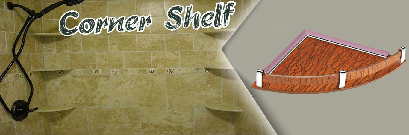 SS Corner Shelf