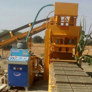 Fully Automatic High Pressure Brick Making Machine