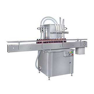 Four Head Liquid Filling Machine