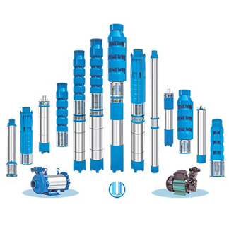 Single & Two Stage Air Compressor & Submersible Pump