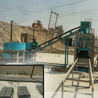 Automatic Fly-ash Bricks Machine Plant