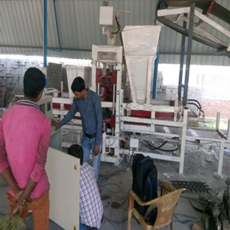 Automatic 4 Brick(3 in 1) Fly Ash Brick Making Plant