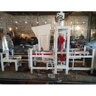 Automatic 9 Brick Fly Ash Brick Making Plant