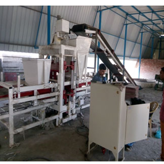 Automatic 12 Brick(3 in 1) Fly Ash Brick Making Plant