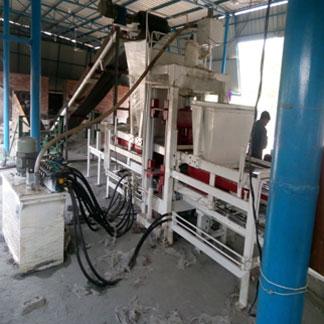 Automatic 16 Brick Fly Ash Brick Making Plant