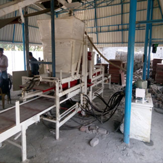 Automatic 20 Brick Fly Ash Brick Making Plant