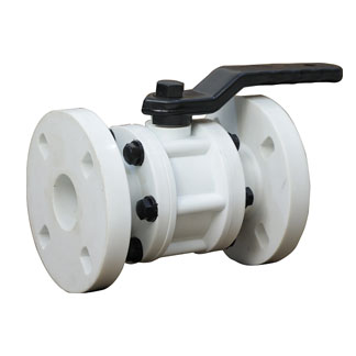 3 Piece Ball Valve Flanged Ends