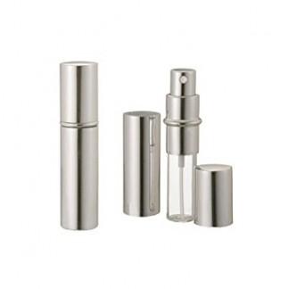 Silver Metallic Perfume Atomizer