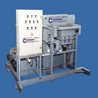 Fly ash brick machine – three brick in one mould
