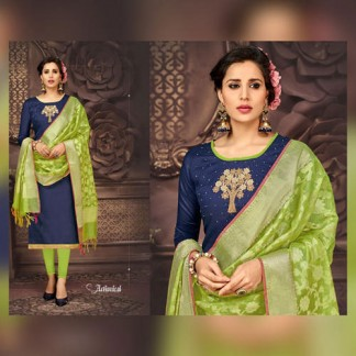 Owomaniya Naysa Bombay Glace Cotton Dress Materials