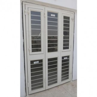 Three Fold French Door