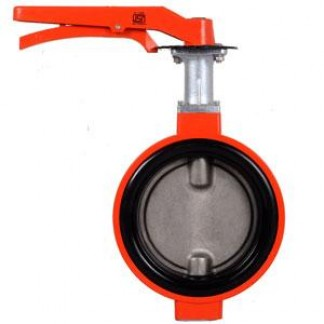 ALUMINIUM BUTTERFLY VALVE – LEVER OPERATED