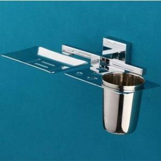 Soap Dish With Tumbler Holder