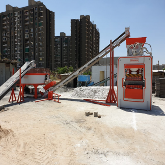 Fly Ash Machine