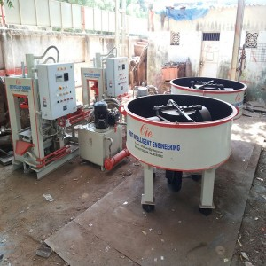 Semi Automatic Fly ash Brick Plant