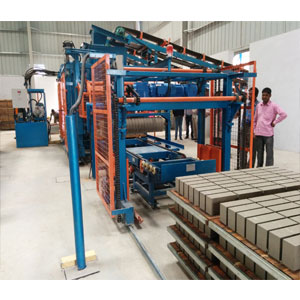 Concrete Bricks ,block & Paver Semi-Automatic machine