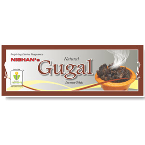 Natural Gugal Incense Sticks