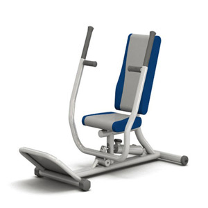 Seated Vertical Chest Press Gym Exercise Machine