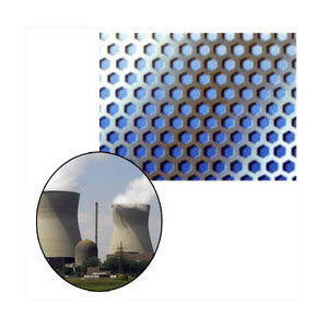 Perforated Metal Sheet for Power Plants