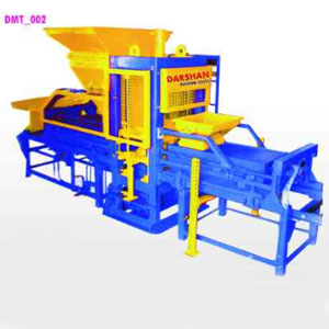 Automatic Paver Block & Brick making Machine