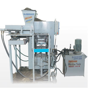 Paver Block &Fly Ash Bricks Machine
