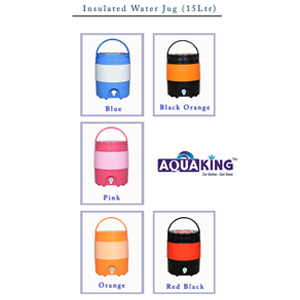 Insulated jug 15 LTR