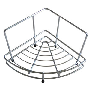 SS Corner Kitchen Basket