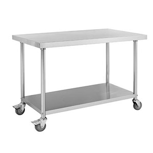 Under Shelf Working Table