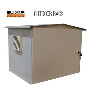 IP 55 Outdoor Wallmount Rack