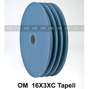 16X3XC TAPELI PULLEY