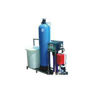 Softner Base Water Treatment Plant