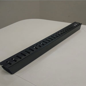 1u Pvc Box Type Cable Manager