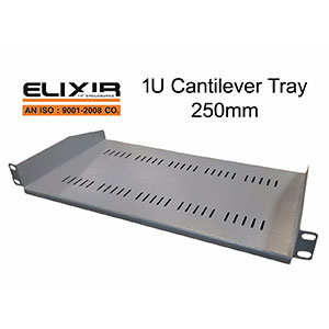 1U Cantilever Tray 250 mm