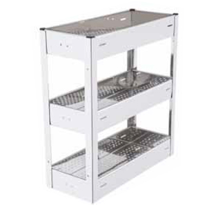 Full Perforated Triple Pull Out Basket