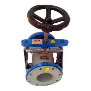 Open Body Fabricated Pinch Valve