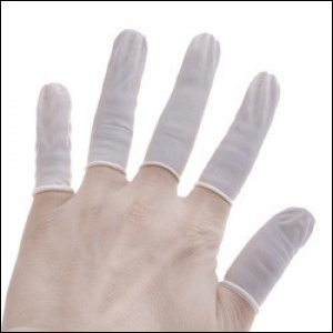 Rubber Finger Gloves