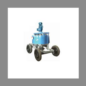 Pan Mixer With Pneumatic Wheel