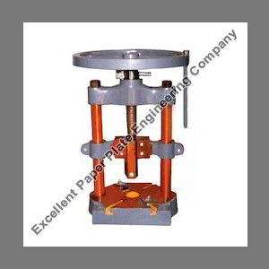 Paper Plate Manual Hand Press
