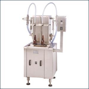 Semi Automatic Two Head Liquid Filling Machine