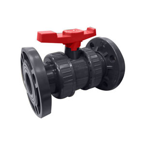 HDPE Ball Flange End Valve