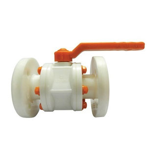 PP Ball Flanged Valve