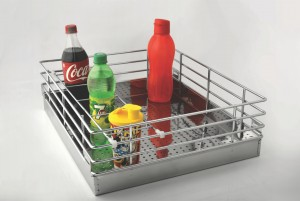 Perforated Bottle Basket
