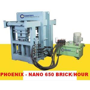 Fly Ash Brick Machine Phoenix – Nano - I