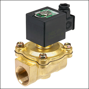 Pilot Operated 2 Way Solenoid Valve