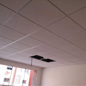 Mineral Fiber Grid False Ceiling