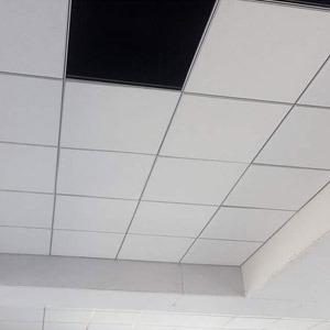 Vinyle Laminated Grid False Ceiling