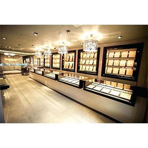 Jewellery Showroom Interiors