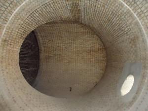 Acid Resistant Tile Lining in Acid storage Tower