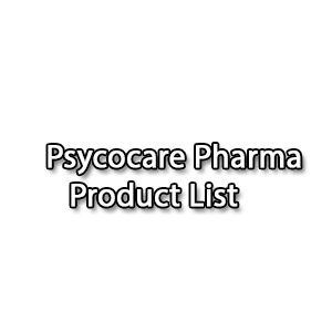 Psycocare Pharma Product List